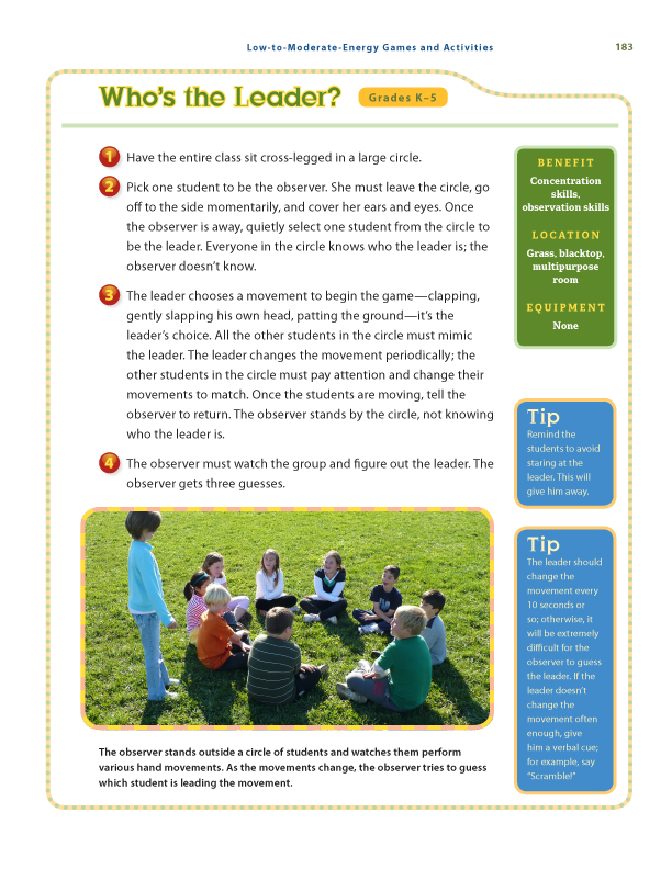 PE by Design sample page17