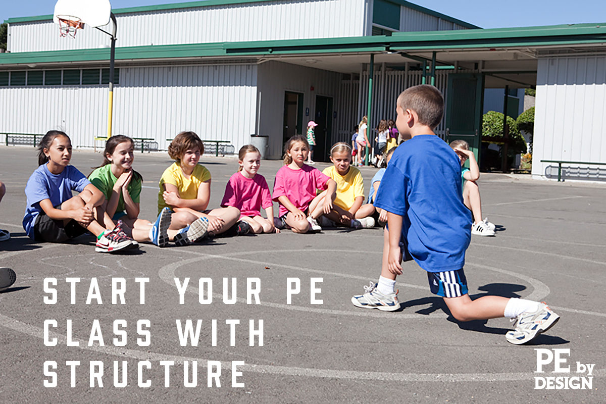 Start Your PE Class with Structure: Tell Students Where to Stand While Listening to Directions